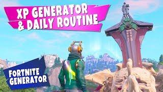 FORTNITE XP Generator und tägliche Routine Tutorial