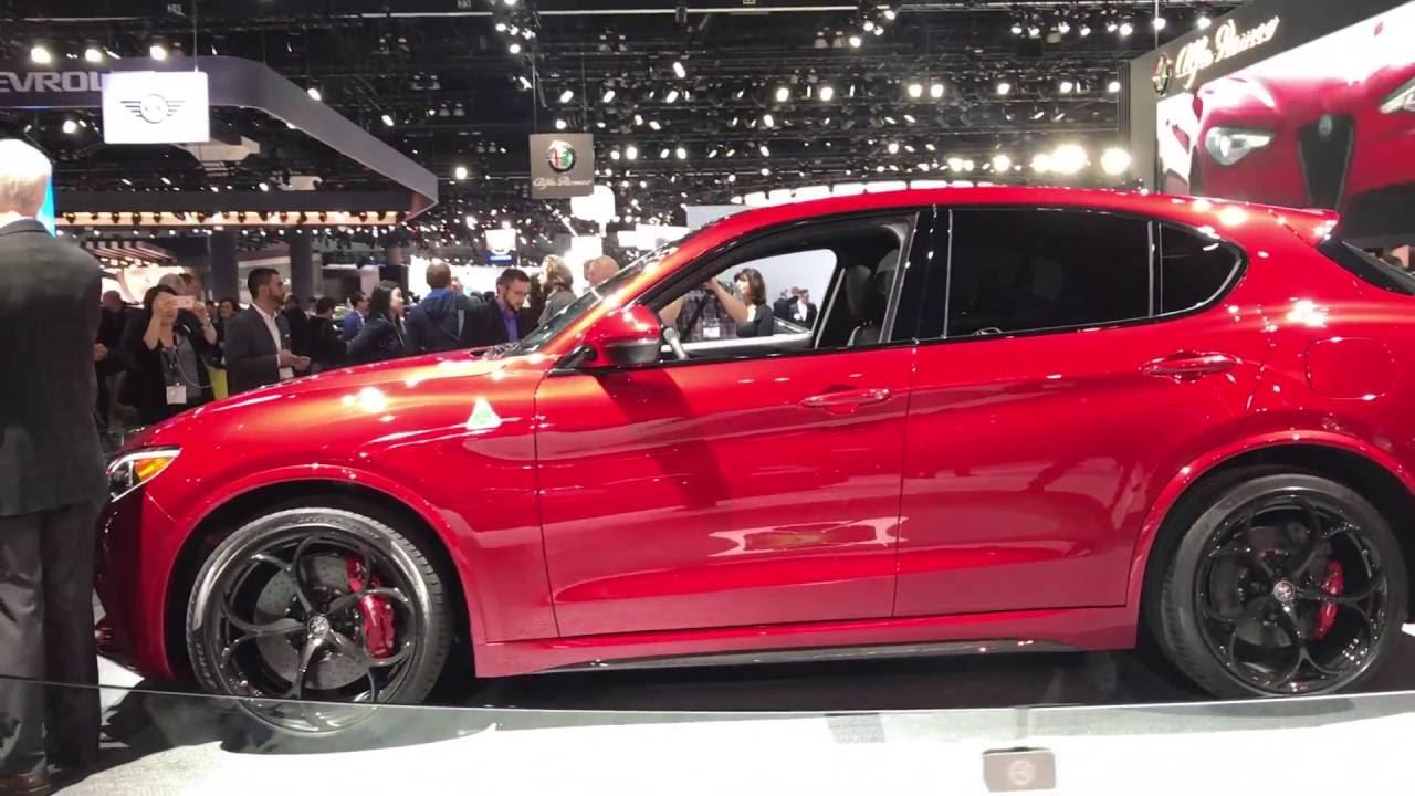 Alfa Romeo Stelvio  // Лос-Анджелес 2016 // АвтоВести Online