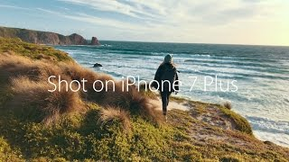 iPhone 7 Plus + DJI Osmo Mobile Cinematic Footage 4k Video