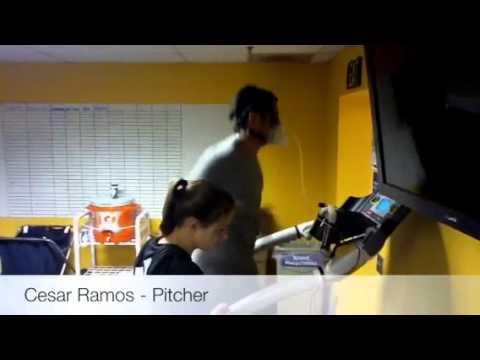 MLB Pitchers evaluation at Athletes' Performance