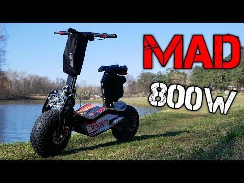 Электросамокат VELOCIFERO MAD 800W