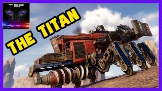 Crossout #490 ► TITAN the Melee Destroyer - Epic 8 Kills CLAN WARS Match