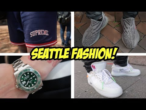 WHAT ARE PEOPLE WEARING IN SEATTLE?!