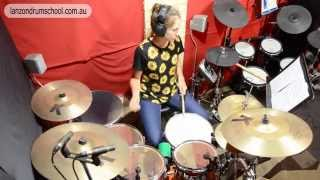 Lanzon Drum School - Drum Cover - Death by Diamonds and Pearls by Band of Skulls