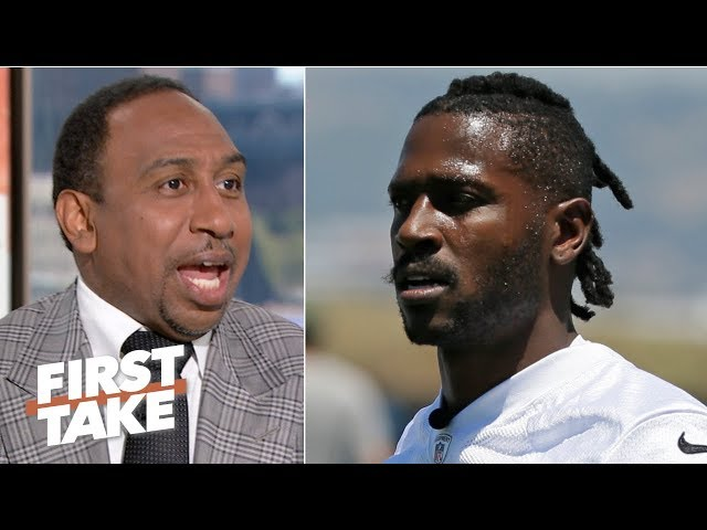 Antonio Brown is being selfish, childish and petty – Stephen A. | First Take