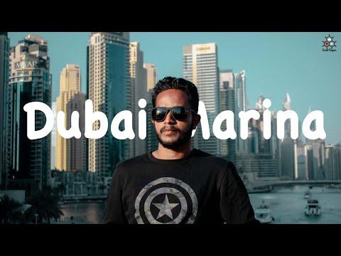 Dubai Marina Beach with Friends | Must visit beach in Dubai