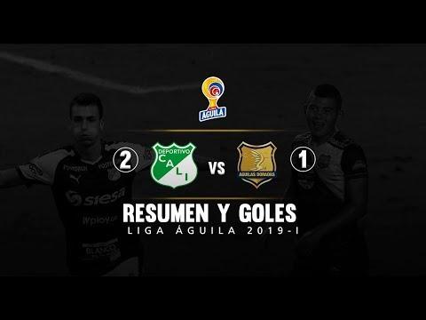 Cali vs Rionegro Águilas: resumen y goles del partido 2-1, Liga Águila 2019-I
