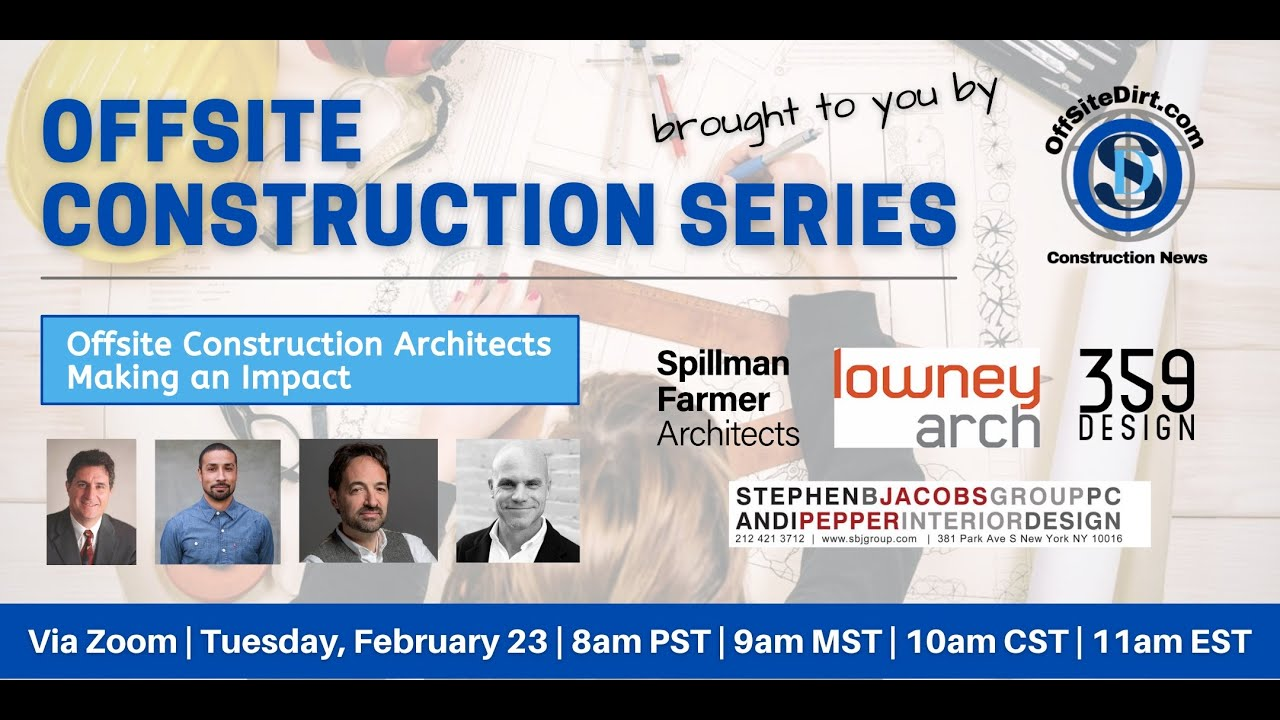 Panel Recap: Offsite Construction Architects Making an Impact