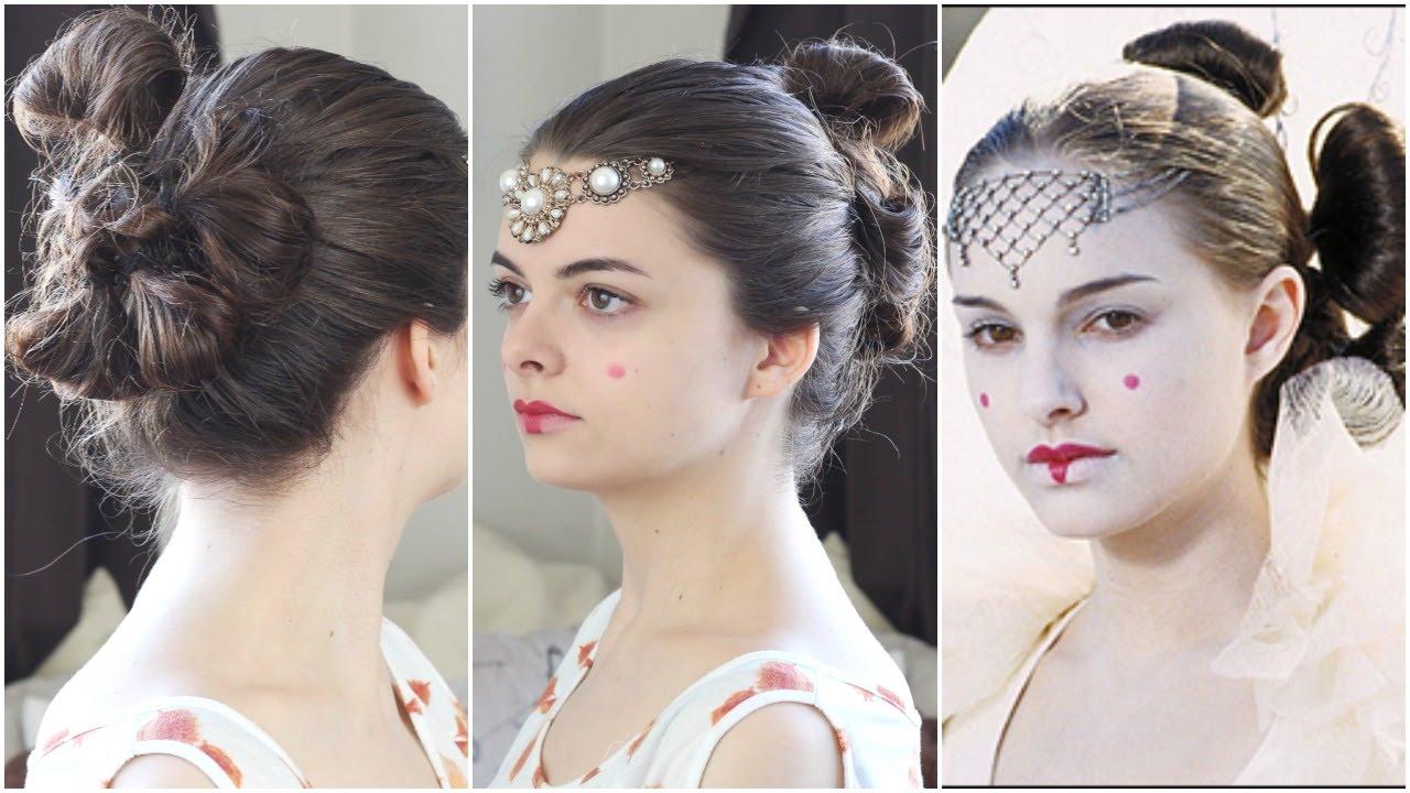 Padmé Amidala (Star Wars) Tutorial   Beauty Beacons of Fiction - YouTube