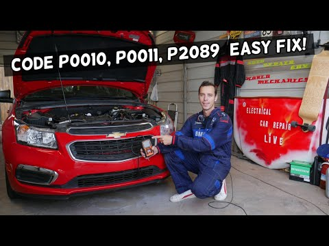 FIX CODE P0010 P0011 P2089 CAMSHAFT POSITION ACTUATOR CHEVY, CHEVROLET, BUICK, GMC, CADILLAC