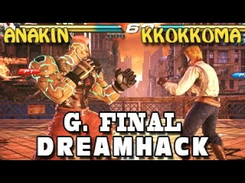 Anakin (JACK-7) Vs Kkokkoma (Paul, Kazumi) - G. Final - Tekken 7 World Tour