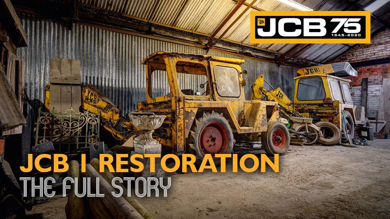 JCB 1 Backhoe Loader Restoration - The Full Story