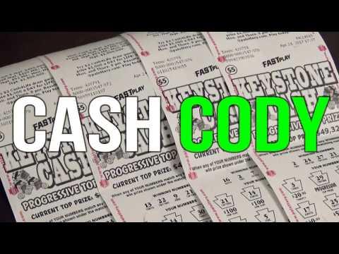 (4) $5 Pennsylvania Lottery - Keystone Cash - Fast Play WINNER!