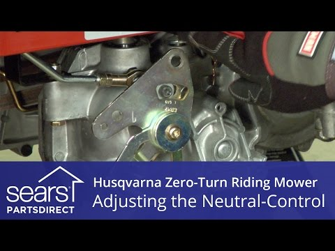 How to Adjust a Husqvarna Zero-Turn Riding Mower Neutral Control