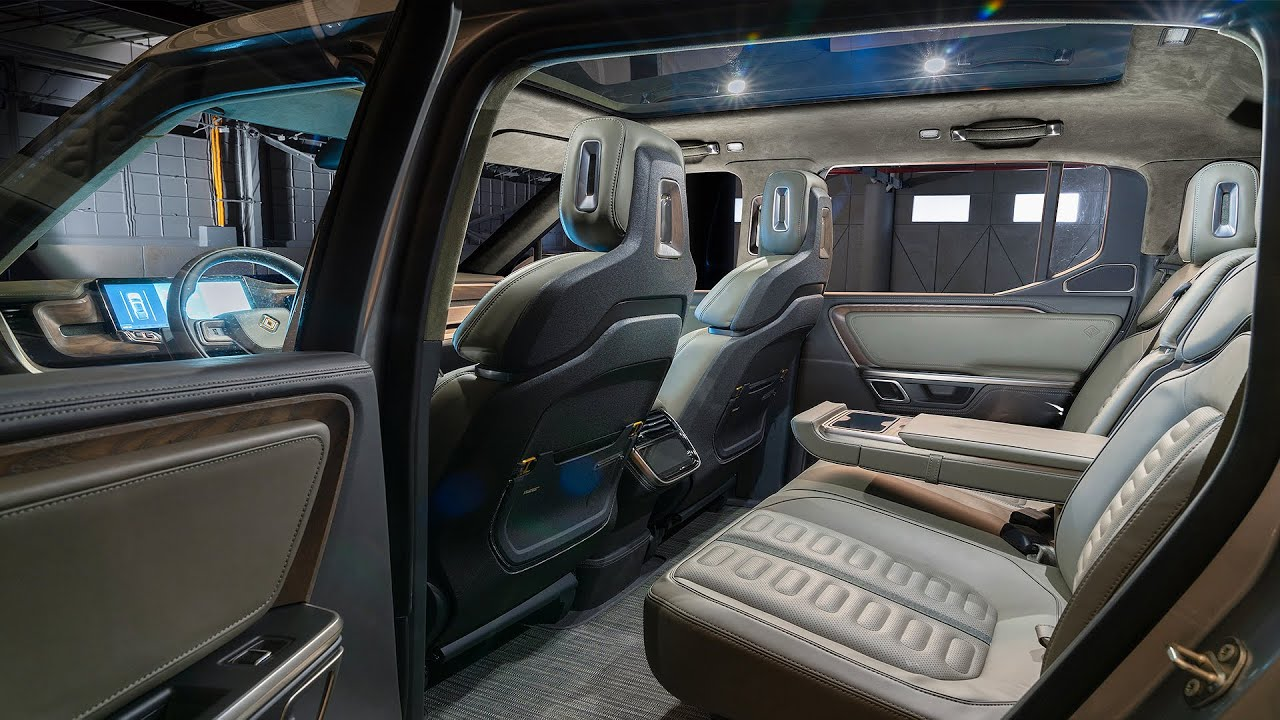 These are some of the features you can expect from the Rivian R1T ...