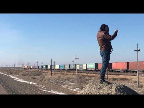 China To Europe 'New Silk Road' Train Going Through Kazakhstan