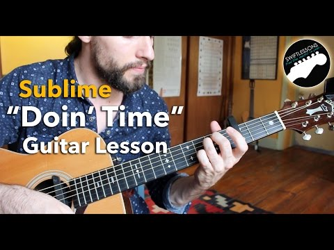 Doin Time  Sublime Beginner Friendly Guitar Tutorial