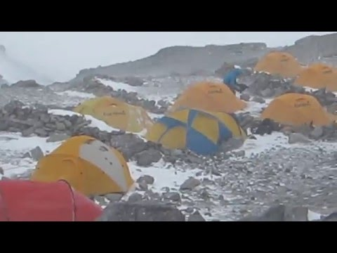 Aconcagua Wind Storm