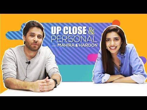 Verna   Mahira Khan & Haroon Shahid Up Close and Personal