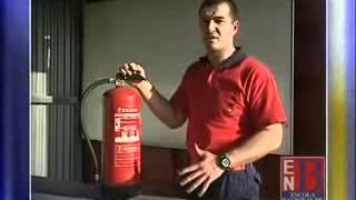 Como Utilizar Corretamente um Extintor ENB