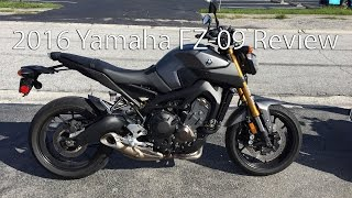 2016 Yamaha FZ 09 Motorcycle Review
