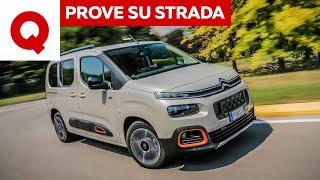 Nuova Citroën Berlingo, altro che furgone!
