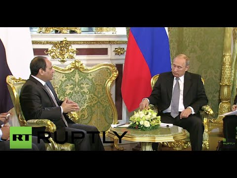Russia: Putin talks bilateral ties with Egyptian President el-Sisi