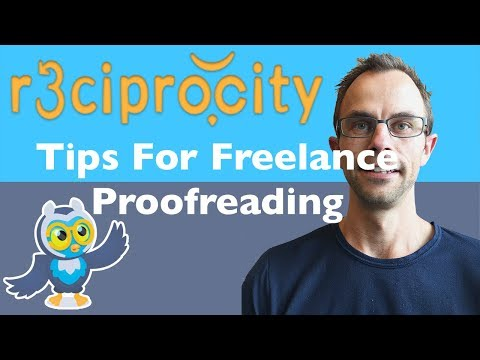 Tips For Freelance Proofreading: Creating Your Own Proofreading Business