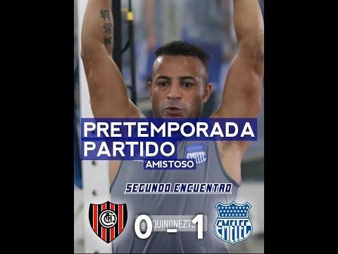 Emelec vs Chacarita 1-0 Partido Amistoso