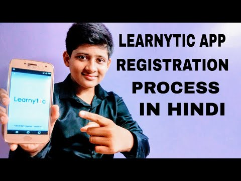 LEARNYTIC APP REGISTRATION PROCESS/by sub tech