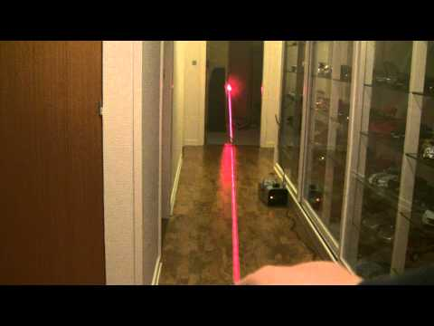 Visible beam from the Dealextreme 200 mW red laser?