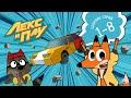 Лекс и Плу | Сборник серий 1-8 | Мультфильмы для детей | Космические таксисты