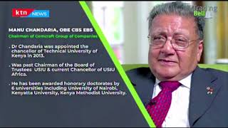 Focus on Manu Chandaria, Chairman of Comcraft Group of Companies | Trading Bell | Part 1