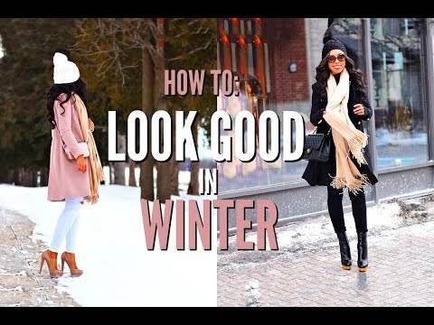 HOW TO ALWAYS LOOK GOOD IN WINTER - HOW TO STYLE WINTER BASICS + LOOKBOOK | VLOGMAS DAY 6