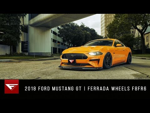 2018 Ford Mustang GT | While They're Young | Ferrada Wheels F8FR6