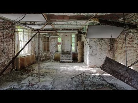 BEAUTIFUL Abandoned Psychiatric Hospitals