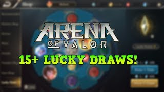Arena of Valor Lucky Draw - Trying to Get That Violet Piolet Skin