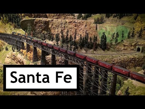 Santa Fe Coal Train at the Colorado Model Railroad Museum BNSF Days