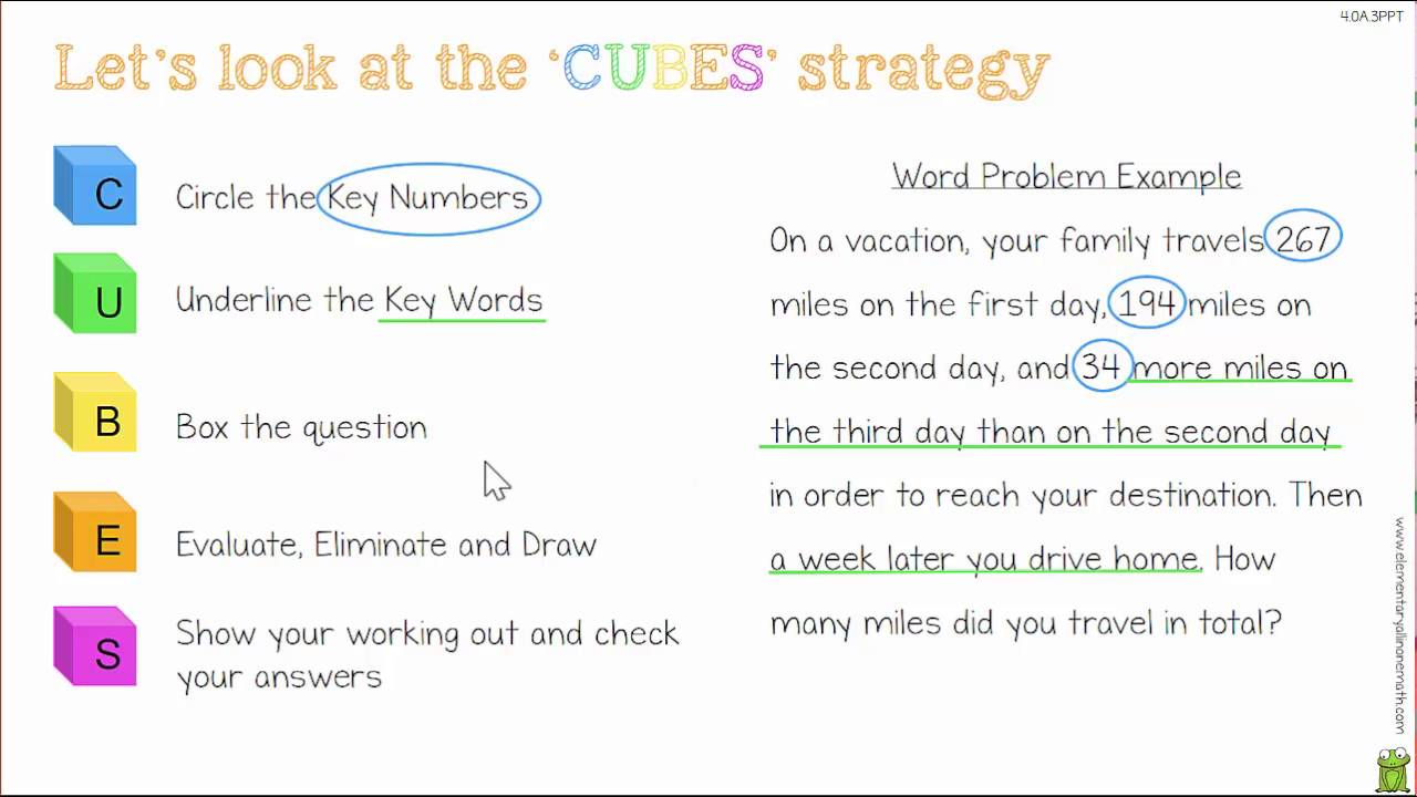 small resolution of 4OA3 Solving Multi-Step Word Problems Lesson - YouTube