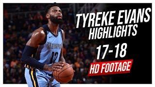 Grizzlies SF/PG Tyreke Evans 2017-2018 Season Highlights ᴴᴰ