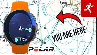 POLAR Vantage V: THE COMPASS FEATURE EXPLAINED & how to upload your route maps