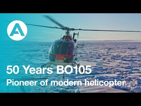 50 Years BO105 - a pioneer of modern helicopter technology