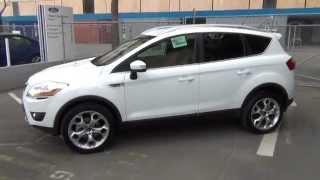 Ford Kuga Titanium-Frozen White