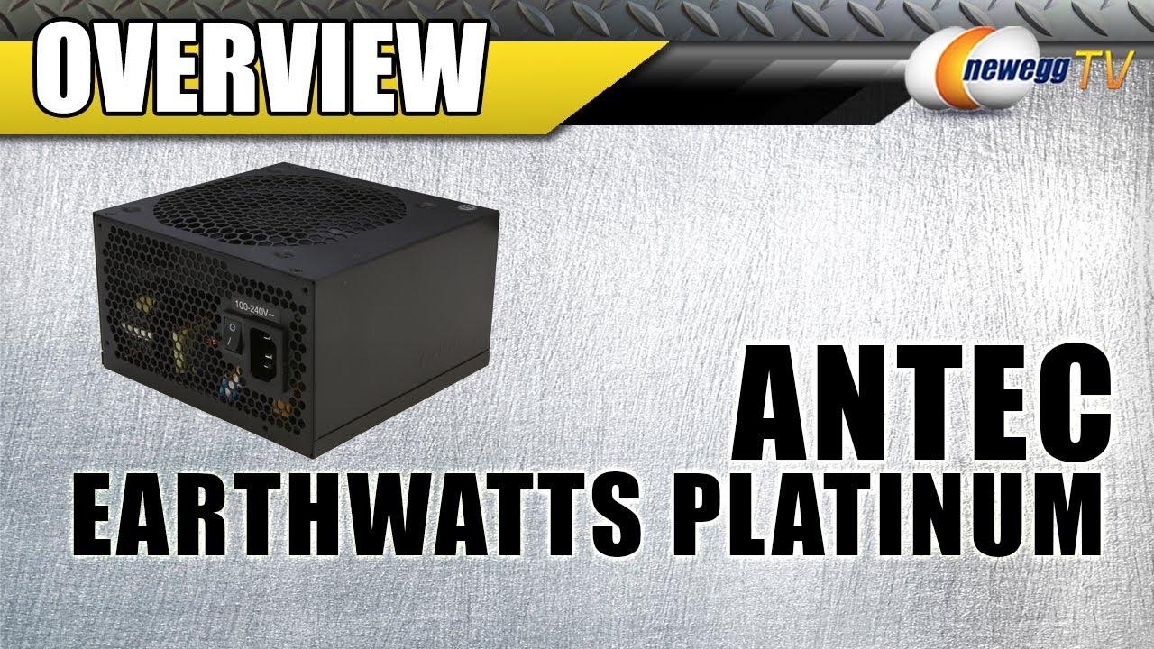 Antec EarthWatts Platinum Series EA-650 650W Power Supply