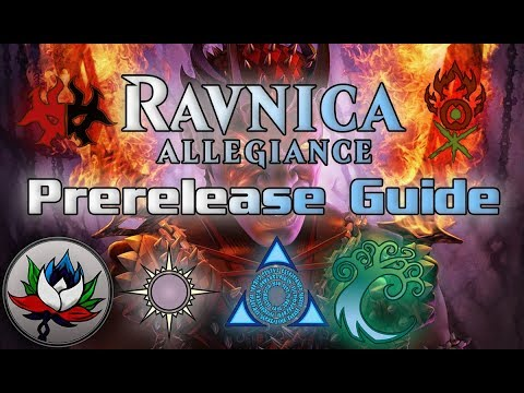 MTG - Ultimate Ravnica Allegiance Prerelease Guide: Which Guild Should You Play?