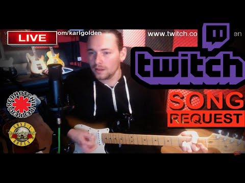 Golden Studios  - LIVE show & chat!  (100 Riffs, GNR, RHCP.....)