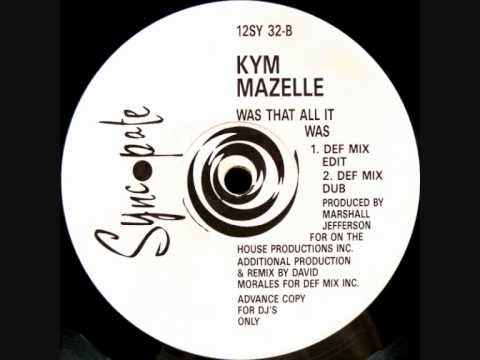 Kym Mazelle  Was That All It Was Def Mix Dub 1989