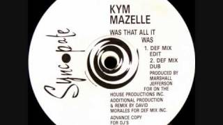 Play Was That All It Was (Def Mix)