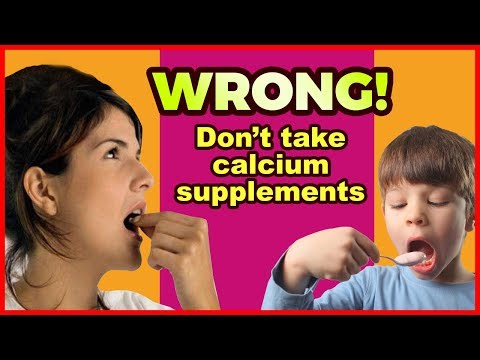 The Science Behind Calcium Supplements (Dosage, Stone And Heart RISKS)