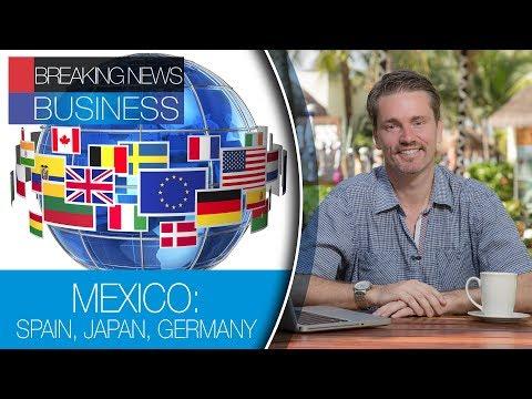 MEXICO: SPAIN, JAPAN, GERMANY.